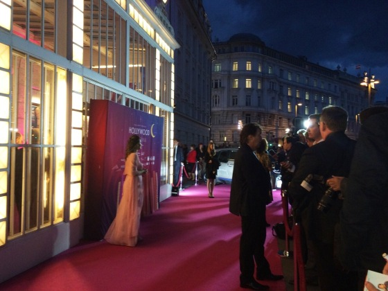 Hollywood in vienna - red carpet