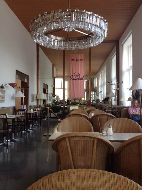 Cafe Prückel. Since 1904